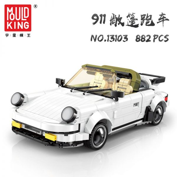 Mould King 13103 Porche 911 Targa