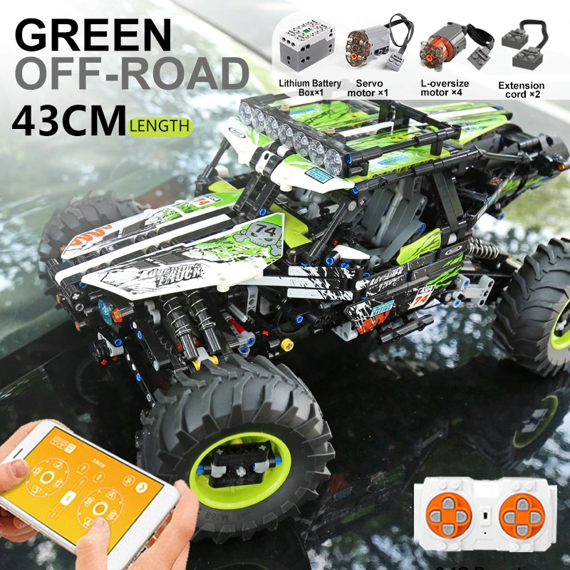 MOULD KING 18002 4WD RC Buggy Terrain Off-Road Climbing Truck