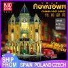 Mould King Moc Street View Creator Series Post Office Corner Building Blocks Bricks For Children Toys 18