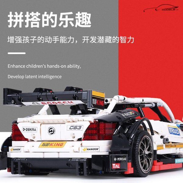 Mould King Moc 13075 Technic Series Amg C63 Sport Super Racing Car Model Building Blocks Bricks 1