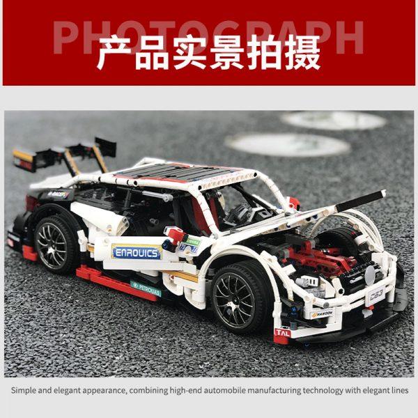 Mould King Moc 13075 Technic Series Amg C63 Sport Super Racing Car Model Building Blocks Bricks 3