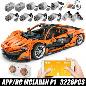 Mould King Moc 20087 Technic Series Mclarening P1 Hypercar Racing Car Model Building Blocks Brick Compatible 1