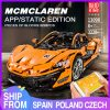 Mould King Moc 20087 Technic Series Mclarening P1 Hypercar Racing Car Model Building Blocks Brick Compatible