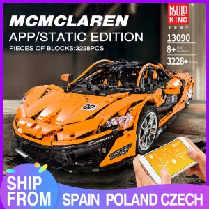 Mould King Moc 20087 Technic Series Mclarening P1 Hypercar Racing Car Model Building Blocks Brick Compatible