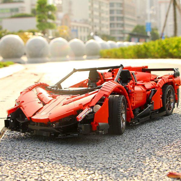 Mould King Moc 20091 Technic Series Veneno Lamborghinis Roadster Model Building Blocks Bricks 13079 Kids Diy 5