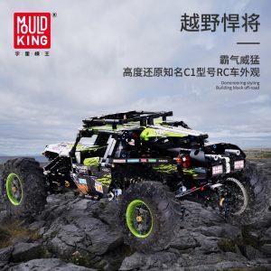 Mould King Moc Technic Buggy Remote Control Terrain Off Road Climbing Truck Model Building Blocks 18002 2