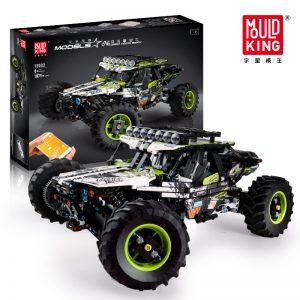 Mould King Moc Technic Buggy Remote Control Terrain Off Road Climbing Truck Model Building Blocks 18002 5