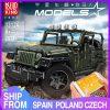 Mould King Technic Series Rc Jeeps Wrangler Adventure Off Road Vehicle Model Building Block Bricks Compatible