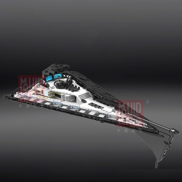 Dhl Mouldking 21004 Star Toys Wars Building Blocks Ucs Dreadnought Star Destroyer Assembly Model Kits Kids 4