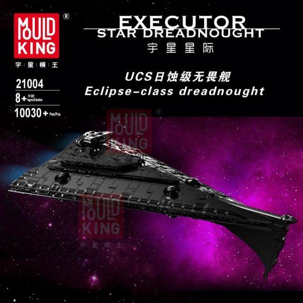 Dhl Mouldking 21004 Star Toys Wars Building Blocks Ucs Dreadnought Star Destroyer Assembly Model Kits Kids
