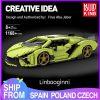Mould King 10011 Technic Car Model Lamborghinings Sierne Car Sets With 42115 Building Blocks Bricks Kids