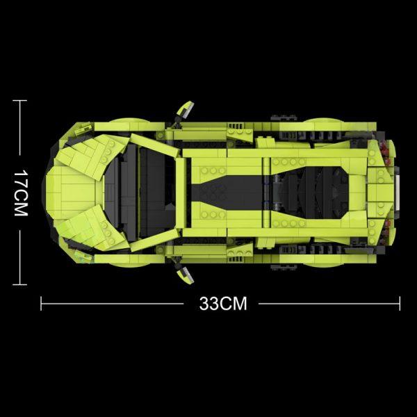 Mould King 10011 Technic Car Model Lamborghinings Sierne Car Sets With 42115 Building Blocks Bricks Kids 5