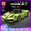Mould King 13074 Technic Super Racing Car 1 8 Ferrarirs Enzo 42115 Car Model With Moc