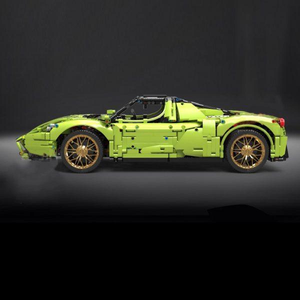 Mould King 13074 Technic Super Racing Car 1 8 Ferrarirs Enzo 42115 Car Model With Moc 2