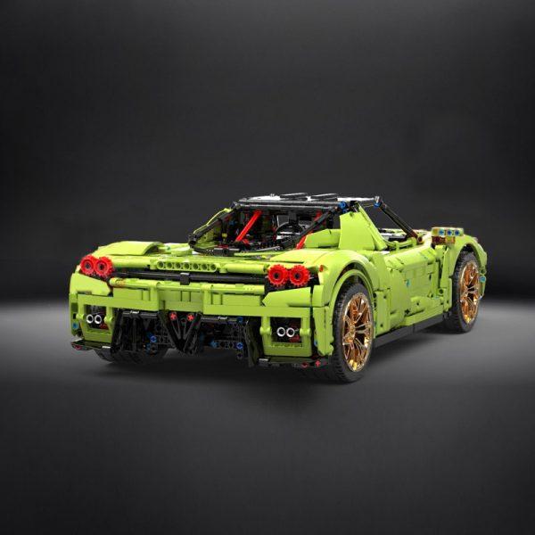Mould King 13074 Technic Super Racing Car 1 8 Ferrarirs Enzo 42115 Car Model With Moc 3