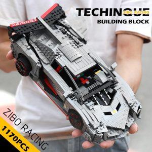 Mould King 13110 Technic Car Toys Moc 10574 Lamborghinis Veneno Roadster Model 20091 Building Blocks Kids 1