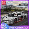 Mould King 13110 Technic Car Toys Moc 10574 Lamborghinis Veneno Roadster Model 20091 Building Blocks Kids