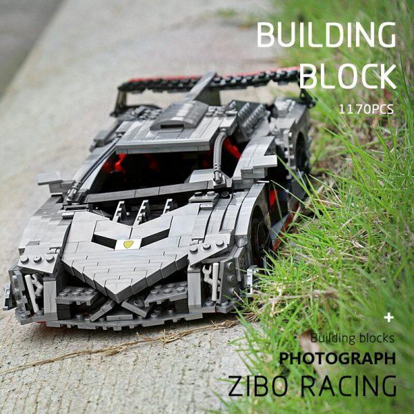 Mould King 13110 Technic Car Toys Moc 10574 Lamborghinis Veneno Roadster Model 20091 Building Blocks Kids 2