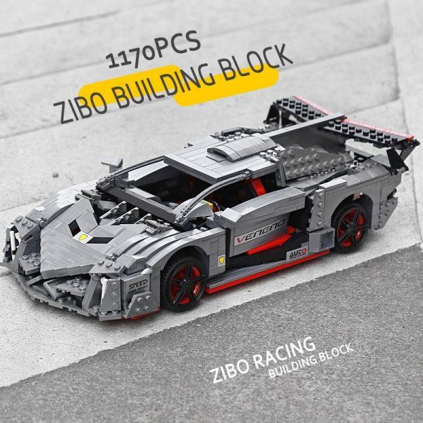 Mould King 13110 Technic Car Toys Moc 10574 Lamborghinis Veneno Roadster Model 20091 Building Blocks Kids 3