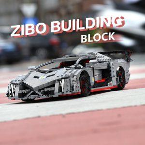 Mould King 13110 Technic Car Toys Moc 10574 Lamborghinis Veneno Roadster Model 20091 Building Blocks Kids 4