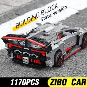 Mould King 13110 Technic Car Toys Moc 10574 Lamborghinis Veneno Roadster Model 20091 Building Blocks Kids 5
