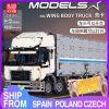 Mould King 13139 Moc 23008 Technic The Arakawa Moc Tow Wing Body Container Truck Tatra Model