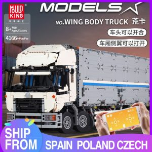 Mould King 13139 Moc 23008 Technic The Arakawa Moc Tow Wing Body Container Truck Tatra Model