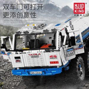 Mould King 13144 Technic Series The Arakawa Moc Tow Off Road Truck Tatra 813 8x8 Model 1