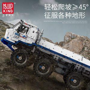 Mould King 13144 Technic Series The Arakawa Moc Tow Off Road Truck Tatra 813 8x8 Model 2