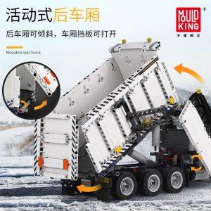 Mould King 13166 Technic Series The Moc 29800 Snowplow Truck Model 42078 Building Blocks Bricks Kids 4