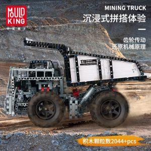 Mould King 13170 Technic Series Liebher Terex T284 Mining Excavator Dump Truck Model 29699 Motor Car 2