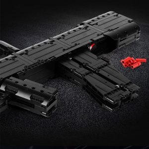 Mould King 14005 Moc The Qbz 95 Automatic Rifle Weapon Gun Model Assembly Kits Building Blocks 3