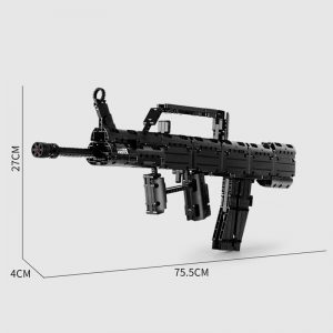 Mould King 14005 Moc The Qbz 95 Automatic Rifle Weapon Gun Model Assembly Kits Building Blocks 5