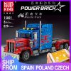Mould King 15001 Technic The Peterbilt 389 Heavy Container Remote Control Truck Assembly Kits Building Blocks