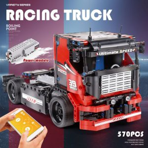 Mould King 15002 Technic Series The Red Racing Remote Control Car Assembly Kits 42041 Building Blocks 2