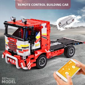 Mould King 15003 Technic Moc The Transport Truck Remote Control Car Building Blocks Bricks Kids Educational 1