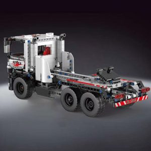 Mould King 15005 Technic Series The Constrouction Remote Control Truck Model With Motor Function Building Blocks 2