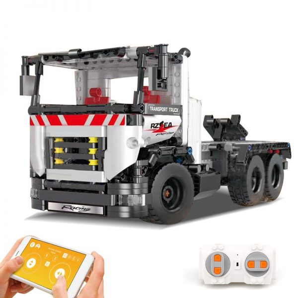 Mould King 15005 Technic Series The Constrouction Remote Control Truck Model With Motor Function Building Blocks 5
