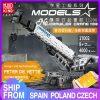 Mould King 17002 Technic App Remote Control Liebherrs Ltm Excavator Truck Model Moc Truck Building Blocks