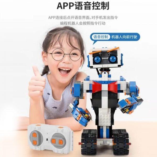 Mould King Idea Intelligent Programming Remote Control Robot Boost Wall E Toys Model Building Bricks Blocks 2
