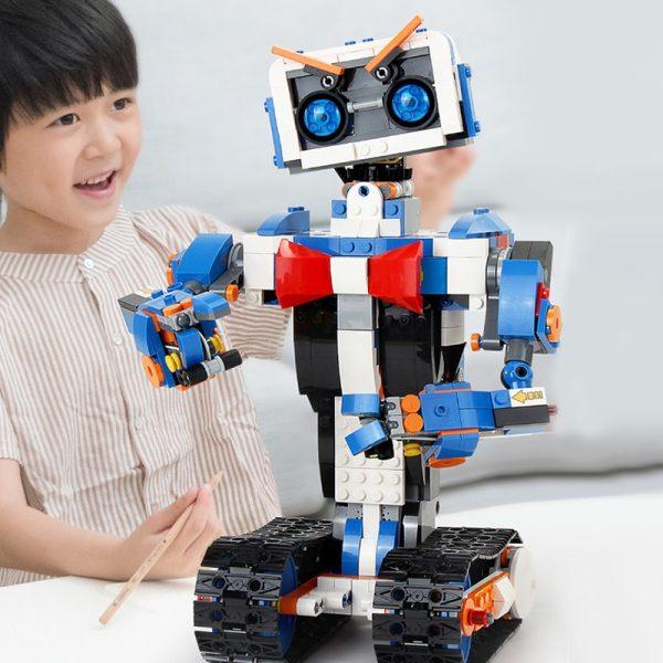 Mould King Idea Intelligent Programming Remote Control Robot Boost Wall E Toys Model Building Bricks Blocks 3