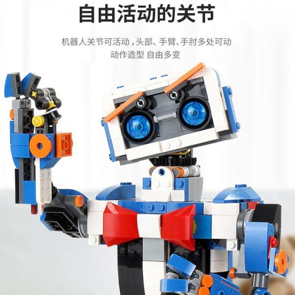 Mould King Idea Intelligent Programming Remote Control Robot Boost Wall E Toys Model Building Bricks Blocks 5