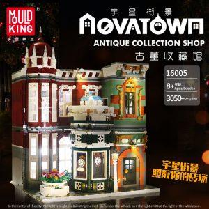 Mould King Moc Street View Creator Series Antique Collection Shop Building Blocks Bricks For Children Toys 2