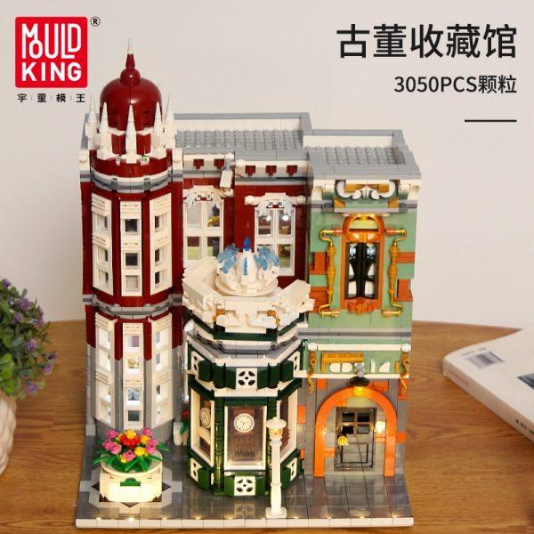 Mould King Moc Street View Creator Series Antique Collection Shop Building Blocks Bricks For Children Toys 4