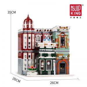 Mould King Moc Street View Creator Series Antique Collection Shop Building Blocks Bricks For Children Toys 5