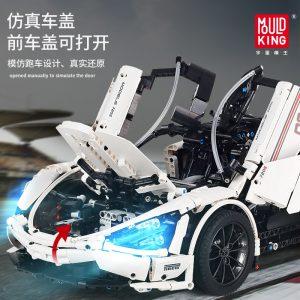 Mould King Moc Technic Series Mclaren P1 720s Racing Car Model Building Blocks Bricks Children Toys 3