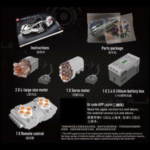 Mould King Moc Technic Series Mclaren P1 720s Racing Car Model Building Blocks Bricks Children Toys 5