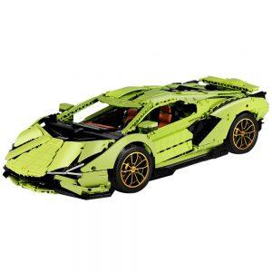Mould King Remote Control Car Technic Limborghinis Racing Car Model Set Building Blocks 13056 Kids Diy 5