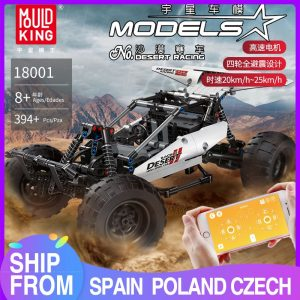 Mould King Technic Moc Car Model Moc 1812 Pf Buggy 2 Desert Racing Remote Control Car