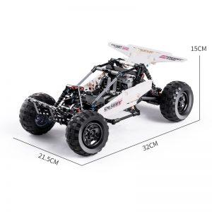 Mould King Technic Moc Car Model Moc 1812 Pf Buggy 2 Desert Racing Remote Control Car 5